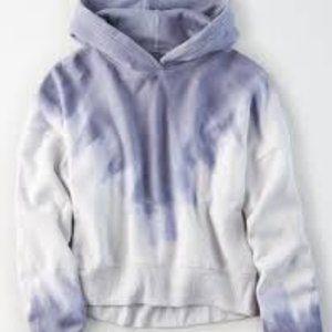 American eagle tie dye hoodie